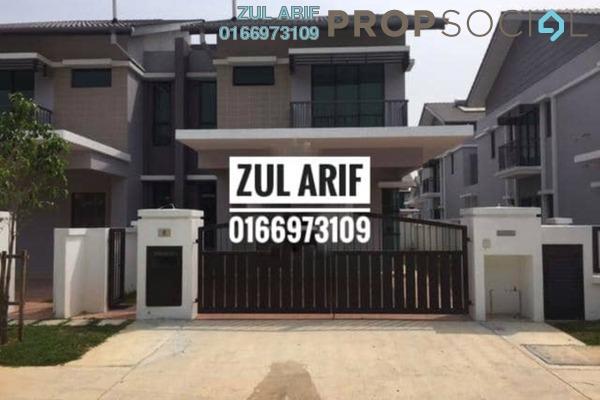 For Rent Semi-Detached at Periwinkle, Bandar Rimbayu Freehold Semi Furnished 5R/5B 1.8k