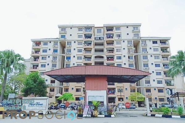 Apartment For Sale in Fair View, Bandar Baru Permas Jaya Freehold Unfurnished 4R/2B 320k