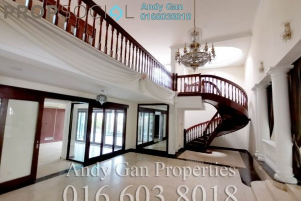 Bungalow For Sale in Bukit Tunku, Kenny Hills Freehold Semi Furnished 8R/8B 8m