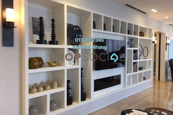Condominium For Sale in The Oval, KLCC Freehold Unfurnished 3R/3B 3.6m