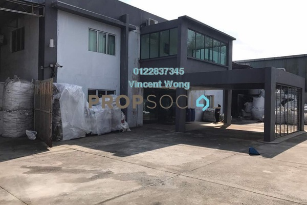 Factory For Sale in Taman Perindustrian Puchong, Puchong Leasehold Semi Furnished 0R/0B 7.2m