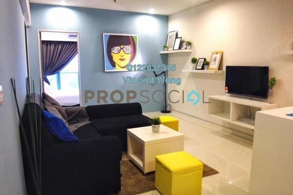 Serviced Residence For Sale in Summer Suites, KLCC Freehold Fully Furnished 2R/2B 860k