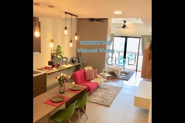 SoHo/Studio For Sale in Seventeen Residences, Petaling Jaya Freehold Fully Furnished 1R/1B 530k
