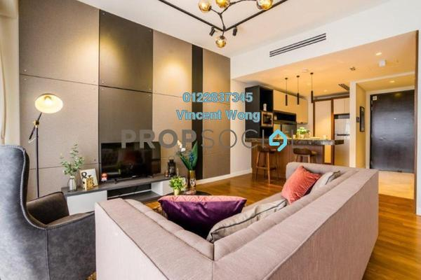Serviced Residence For Sale in Anggun Residences, Dang Wangi Freehold Fully Furnished 1R/1B 1.38m