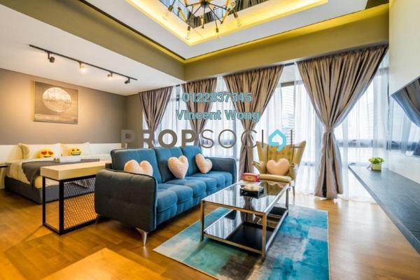 Condominium For Sale in Anggun Residences, Dang Wangi Freehold Fully Furnished 0R/1B 1.38m