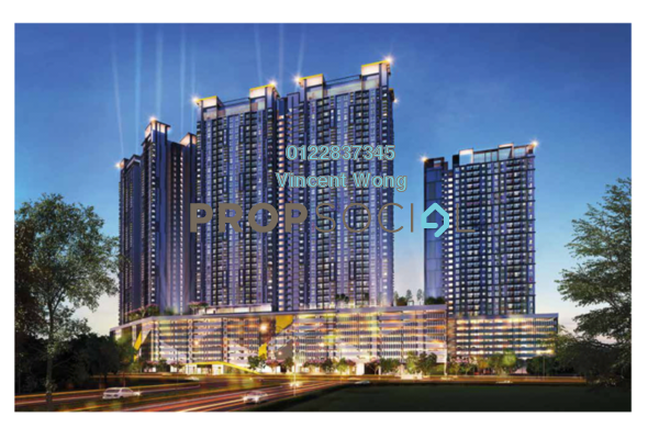 Condominium For Sale in PV18 Residence, Setapak Freehold Unfurnished 3R/2B 473k