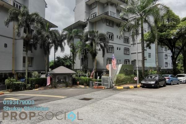 Condominium For Sale in Lojing Heights 1, Wangsa Maju Leasehold Unfurnished 3R/2B 500k