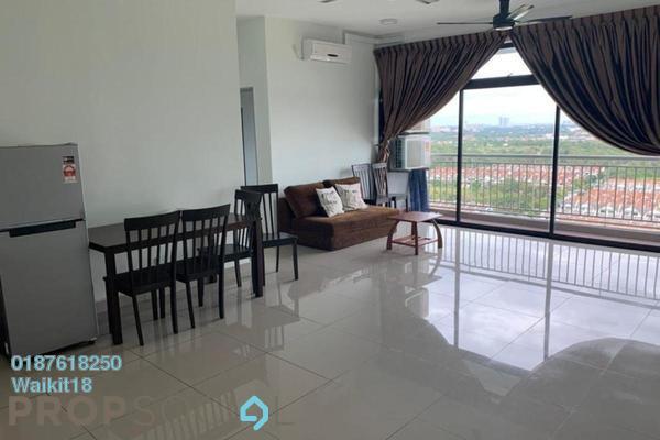 Condominium For Rent in Austin Regency, Tebrau Freehold Fully Furnished 3R/2B 1.3k
