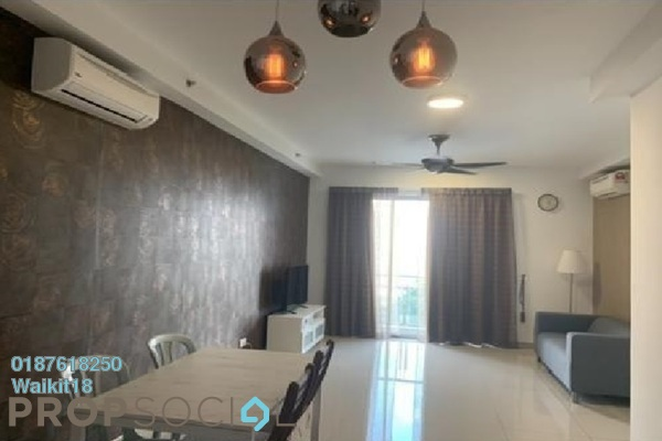 Condominium For Rent in Austin Suites, Tebrau Freehold Fully Furnished 2R/2B 1.4k
