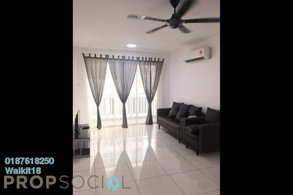 For Rent Condominium at KSL Residences @ Daya, Johor Bahru Freehold Fully Furnished 3R/3B 1.4k