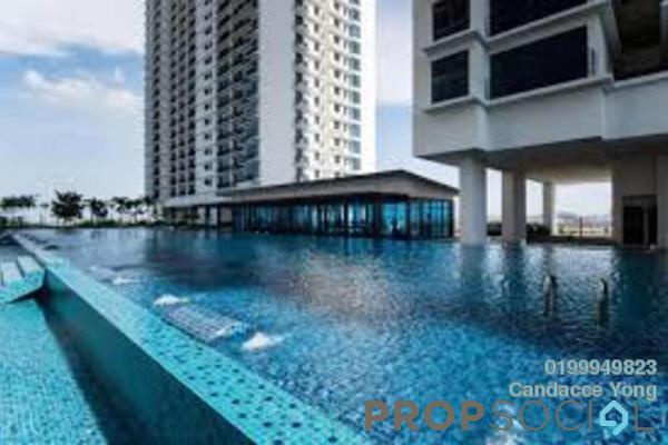 Serviced Residence For Rent in Trefoil, Setia Alam Freehold semi_furnished 0R/2B 850translationmissing:en.pricing.unit