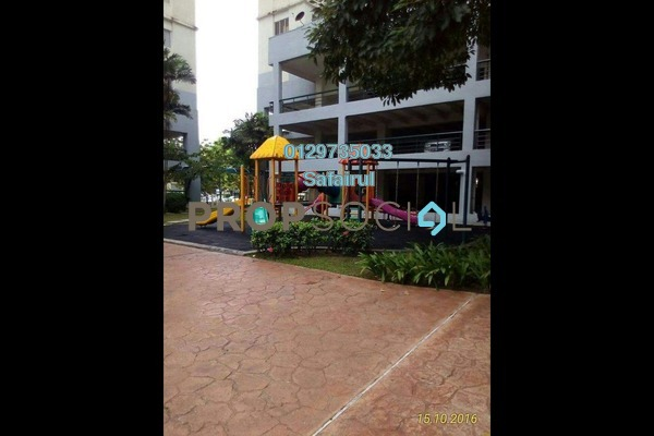 For Rent Condominium at Mentari Condominium, Bandar Sri Permaisuri Freehold Semi Furnished 3R/2B 1.4k