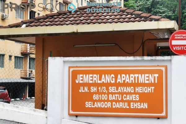 Apartment For Rent in Apartment Jemerlang, Selayang Heights Freehold semi_furnished 3R/2B 750translationmissing:en.pricing.unit