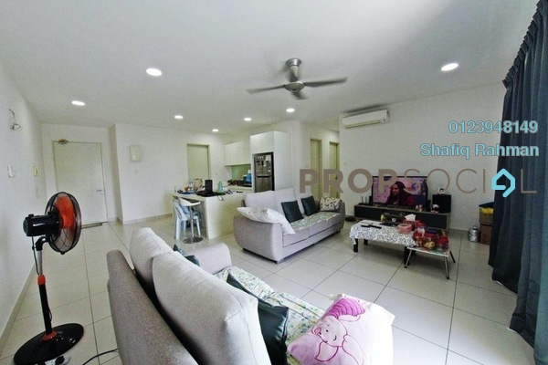 Serviced Residence For Sale in Cristal Residence, Cyberjaya Freehold Semi Furnished 3R/2B 550k