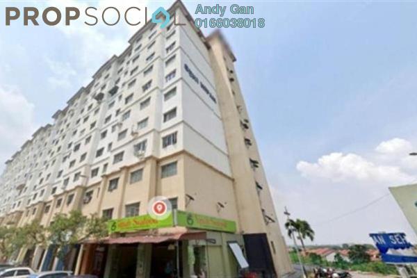 Apartment For Sale in Pangsapuri Seri Sekamat, Kajang Freehold Semi Furnished 3R/1B 160k