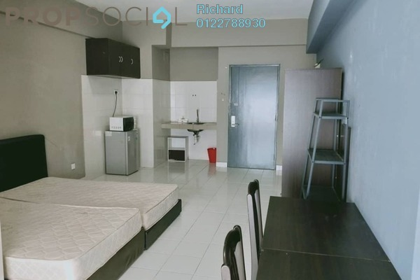 For Rent Serviced Residence at Menara Rajawali, Subang Jaya Freehold Fully Furnished 0R/1B 1.1k
