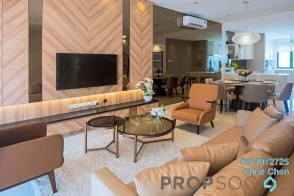 For Sale Townhouse at Tiara Hills, Cheras Freehold Unfurnished 3R/3B 1.29m