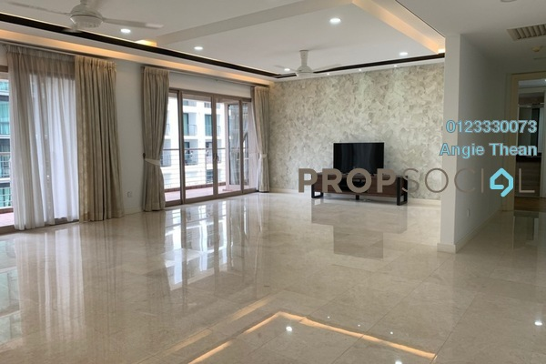 For Rent Condominium at Hampshire Park, KLCC Freehold Semi Furnished 4R/5B 7.8k