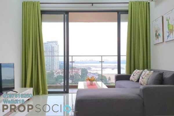 Condominium For Rent in Country Garden Danga Bay, Danga Bay Freehold Fully Furnished 3R/3B 1.9k