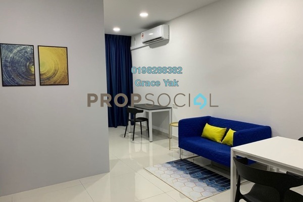 For Rent Condominium at Country Garden Central Park, Johor Bahru Freehold Fully Furnished 1R/1B 1.1k