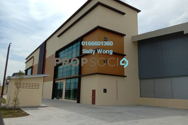 For Rent Factory at Taman Perindustrian Kapar Bestari, Klang Freehold Unfurnished 0R/0B 75k
