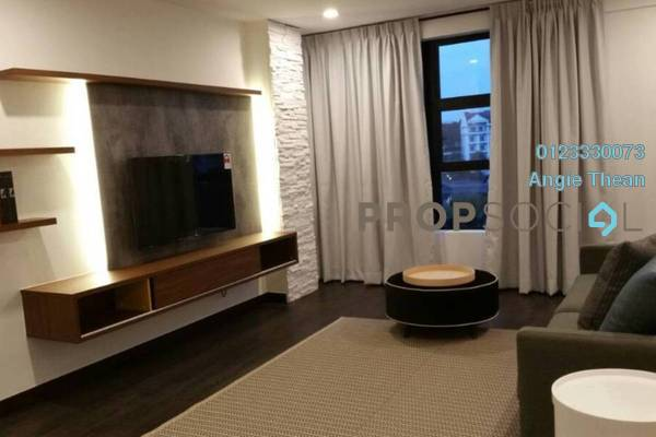 Condominium For Sale in Impiana On The Waterfront, Ampang Freehold Fully Furnished 2R/2B 599k