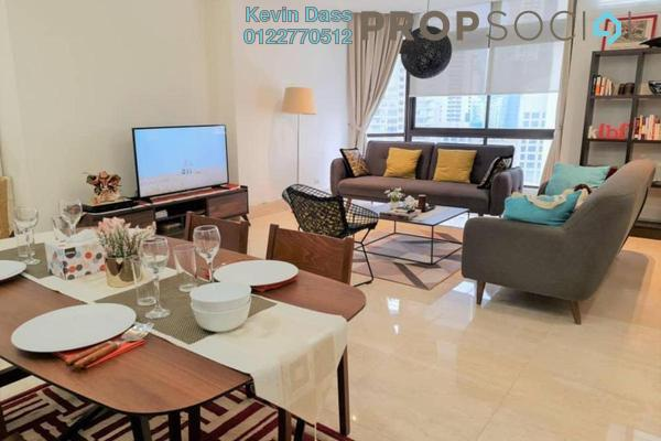 Condominium For Rent in KL Plaza Suites, Bukit Bintang Freehold Fully Furnished 2R/1B 4k