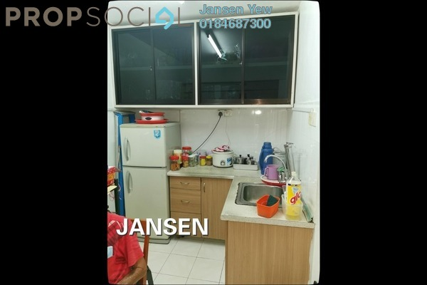 For Sale Apartment at Green Garden, Paya Terubong Freehold Semi Furnished 2R/1B 95k
