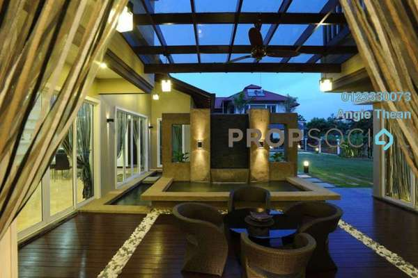 Bungalow For Sale in Setia Eco Park, Setia Alam Freehold Semi Furnished 7R/7B 5.6m