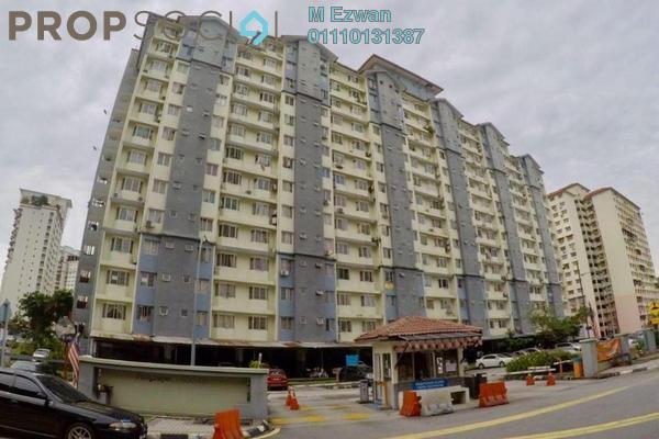 Apartment For Sale in Lestari Apartment, Bandar Sri Permaisuri Freehold Semi Furnished 3R/2B 340k