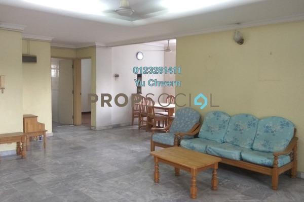 For Sale Condominium at Endah Villa, Sri Petaling Freehold Semi Furnished 3R/2B 420k