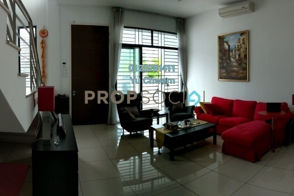 Terrace For Sale in Eden @ Jalil, Bandar Putra Permai Freehold Semi Furnished 6R/5B 1.2m