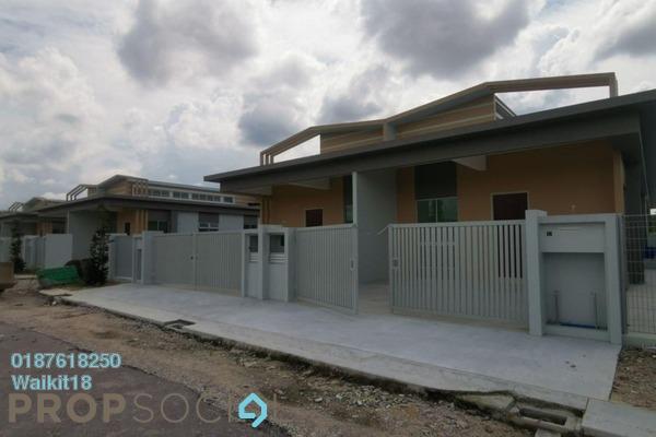 Terrace For Sale in Bandar Kangkar Pulai, Pulai Freehold Unfurnished 3R/2B 550k