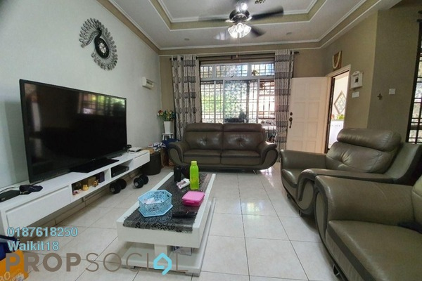 Terrace For Sale in Taman Pulai Indah, Pulai Freehold Fully Furnished 4R/3B 430k
