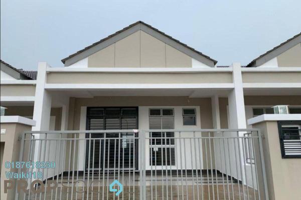 Terrace For Rent in Bandar Kangkar Pulai, Pulai Freehold Semi Furnished 3R/2B 1.1k