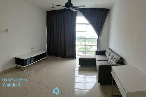 Apartment For Rent in Nusa Heights, Iskandar Puteri (Nusajaya) Freehold Semi Furnished 3R/2B 1.2k