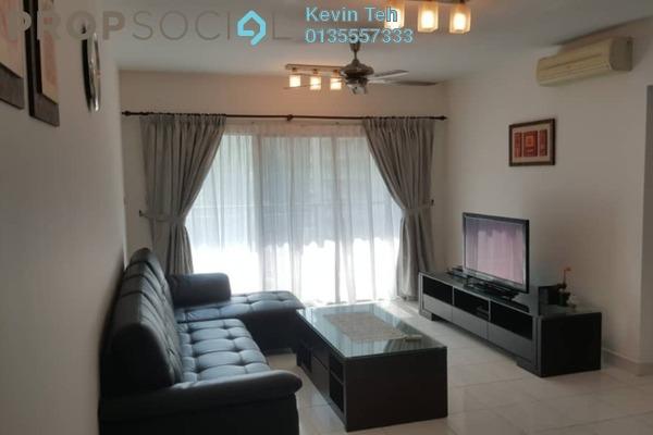 For Rent Condominium at Kiara Designer Suites, Mont Kiara Freehold Semi Furnished 3R/2B 2.8k