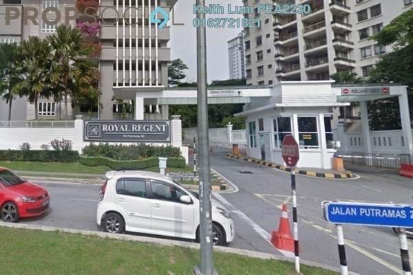 For Rent Condominium at Royal Regent, Dutamas Freehold Semi Furnished 3R/2B 2k