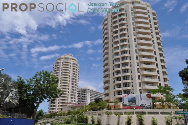 Condominium For Sale in Hillcrest Residences, Bukit Jambul Freehold Unfurnished 5R/5B 800k