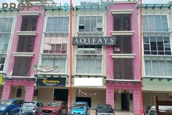 Shop For Rent in Seria 88, Setia Alam Freehold Unfurnished 0R/2B 2.5k