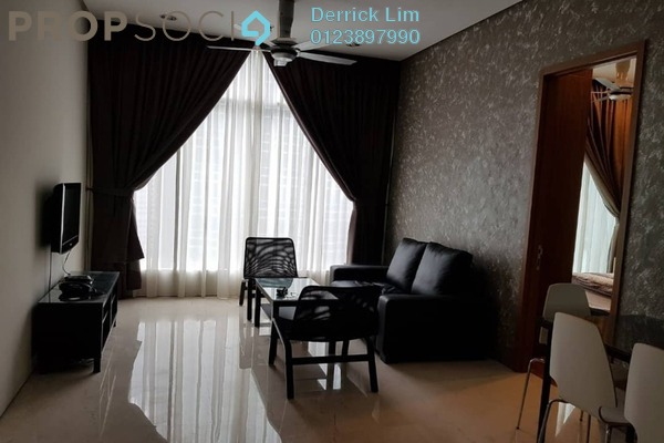Condominium For Rent in Soho Suites, KLCC Freehold Fully Furnished 2R/1B 3.3k
