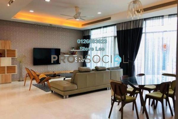 Serviced Residence For Rent in Quadro Residences, KLCC Freehold Fully Furnished 4R/5B 7.5k