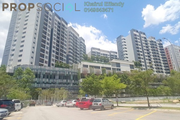 Serviced Residence For Rent in Suria Residence, Bukit Jelutong Freehold Fully Furnished 2R/2B 1.8k