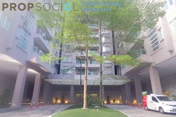 For Sale Condominium at Bintang Goldhill, KLCC Freehold Semi Furnished 1R/1B 700k