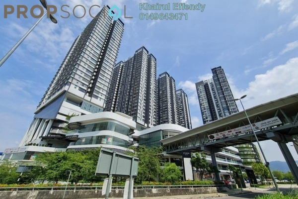 Serviced Residence For Rent in D'Sara Sentral, Sungai Buloh Freehold Semi Furnished 1R/1B 1.6k