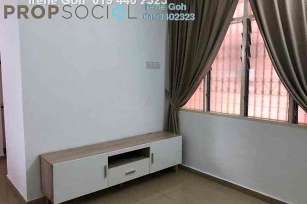 Condominium For Rent in Mewah Court, Green Lane Freehold Fully Furnished 3R/2B 1.2k