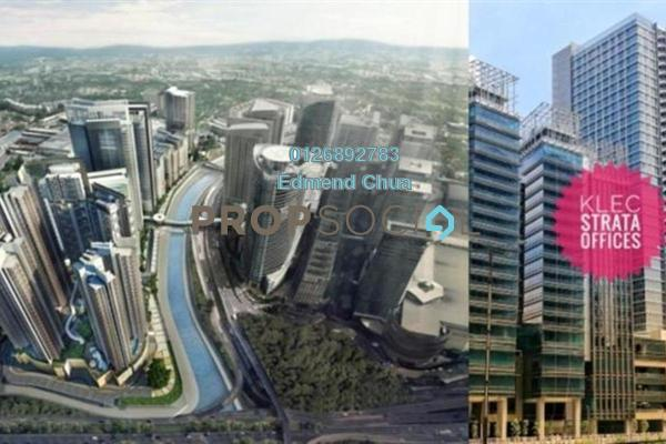 Office For Sale in KL Eco City, Mid Valley City Leasehold Semi Furnished 0R/0B 1.24m