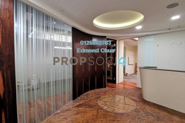 For Sale Office at Wisma BU8, Bandar Utama Freehold Fully Furnished 0R/0B 850k
