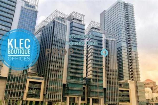 For Rent Office at KL Eco City, Mid Valley City Freehold Unfurnished 0R/0B 21.9k