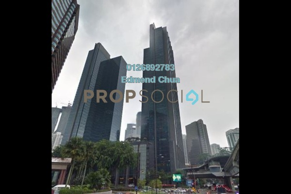 For Rent Office at Menara Bangkok Bank, KLCC Freehold Unfurnished 0R/1B 28.3k